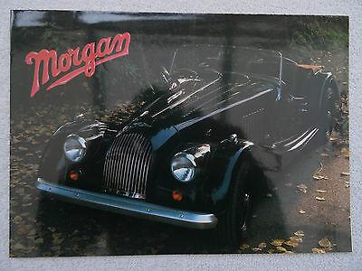 Morgan brochure/poster 1988 - 4/4 1600 2 seater, 4 seater, Plus 8