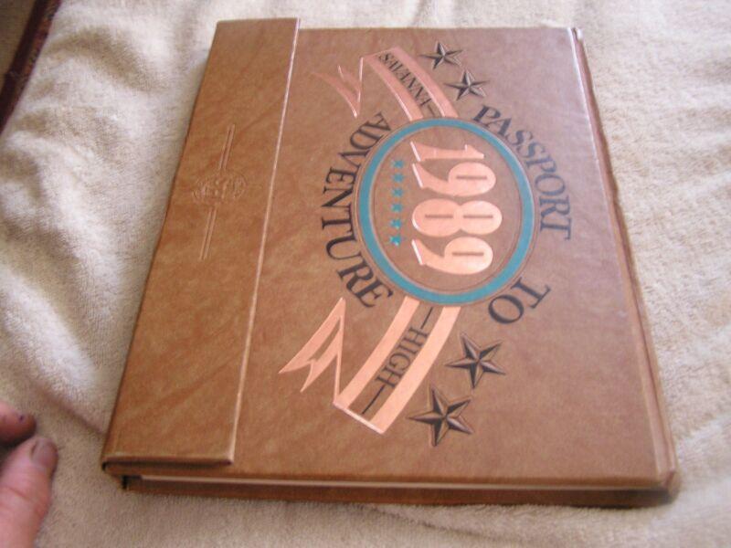 1989 Savanna High School Yearbook Anaheim California