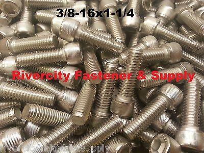 25  3 8 16X1 1 4 Socket Allen Head Cap Screw Stainless Steel  375 X 1 25