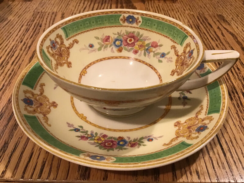 MYOTT Staffordshire The Arlington Vintage Coffee Cup And Saucer
