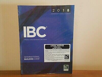 2018 International Building Code IBC * NEW Sealed