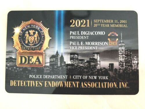 1 BRAND  NEW   COLLECTIBLE  2021  DEA  PBA CARD  LIKE CEA LBA SBA PBA CARD