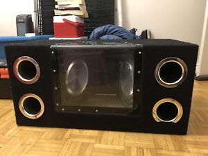 Subwoofers and amp!!!