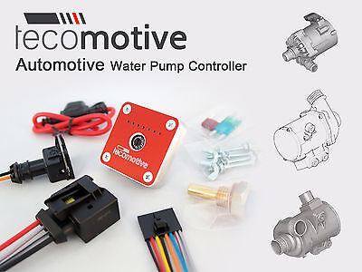 Tecomotive tinyCWA Controller Pierburg CWA200 CWA400 BMW electric water pump eWP