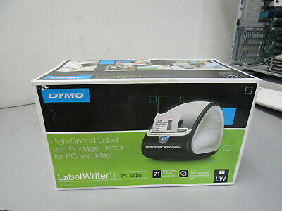 New Dymo Label Writer 450 Turbo Nib