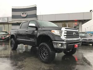 "2018 Toyota Tundra Limited CREW MAX TRD MASSIVE LIFT 35"" Tires"