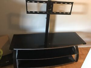 TV stand with a TV mount