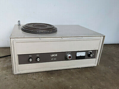 Leco Vp-50 Sample Polisher W Water Supply 891-701-800 115 Vac Wafer