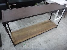 VINTAGE INDUSTRIAL CONSOLE - DISPLAY HOME FURNITURE CLEARANCE Richmond Yarra Area Preview
