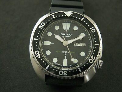 CLASSIC VINTAGE SEIKO DIVER 6309-7040 TURTLE AUTO MEN'S WATCH WPROOF SN. 510577