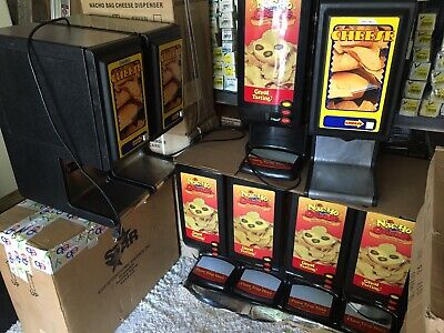 Used Us Nacho Cheese Machine Gas Station Warmer Bag Hot Bar Table Top Dispenser