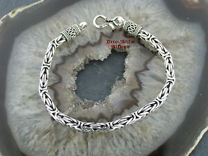 Königskette Armband 5mm Silber 925 Königsarmband Balikette Balichain bracelet