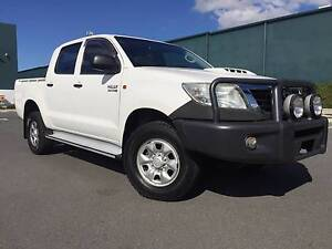 2012 Toyota Hilux Ute auto diese 4x4 dual cab excellent condition Arundel Gold Coast City Preview