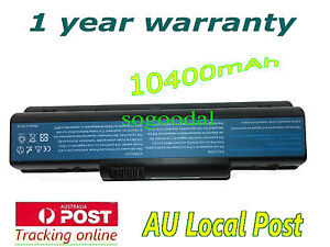 12-Cell Battery F Acer Aspire 5735Z 5738G 5738Z 5738ZG 5740 5740DG 5740G AS07A75