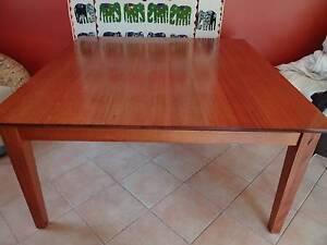 8 seater square dining table Diamond Creek Nillumbik Area Preview