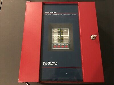 System Sensor Pdrp-1001 Deluge Preaction Control Panel Fire Alarm