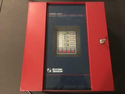 System Sensor PDRP-1001 Deluge Preaction Control Panel Fire Alarm