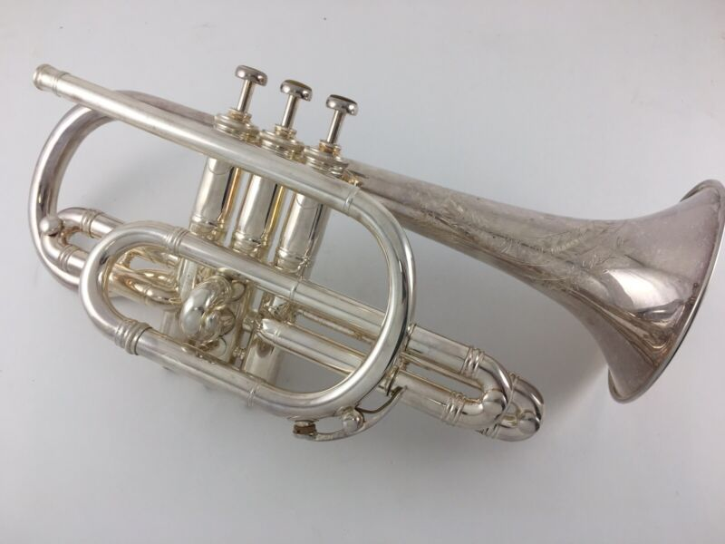 BOSTON 3 Star Cornet - Vintage -Rare Condition- With Case REDUCED