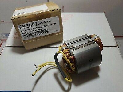 Oem Hitachi Stator Assy 110v Field For Rotary Hammerspart 981-970c B1