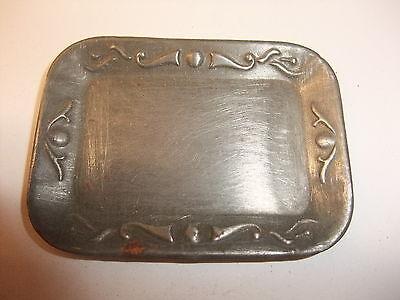 Puppenstube Kaufmannsladen altes Tablett Schale Vorlegeplatte Untersetzer u 1900