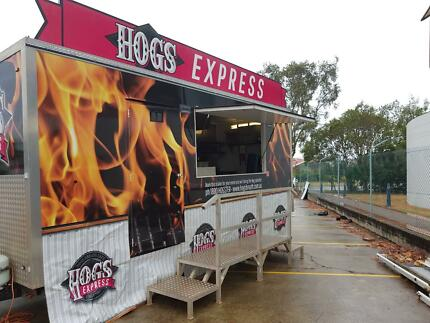 Food Trailer Big Time Catering Trailer and Towing Vehicle Brisbane City Brisbane North West Preview