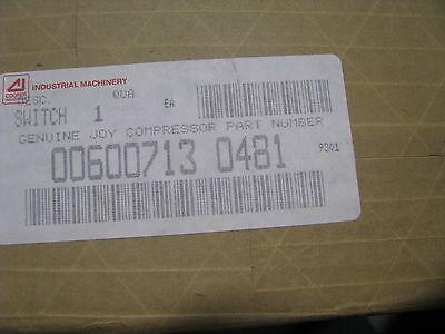 Joy Compressor Pressure Switch 00600713-0481 Nsn 5930-01-281-1329 836t-t253jx35