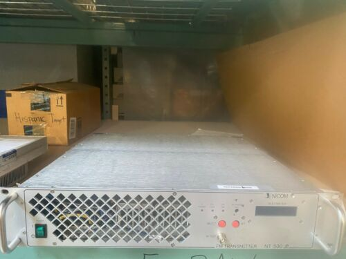 NICOM NT 500 500w + FM  BROADCAST TRANSMITTER 88-108MHz CERTIFIED!