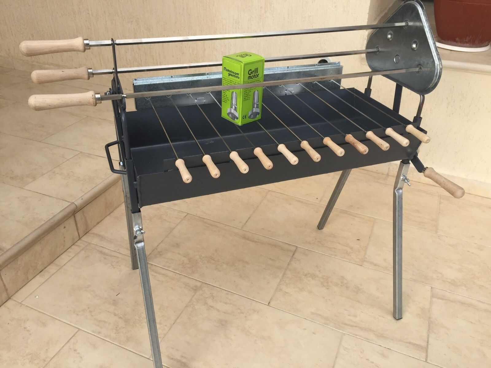 Rotisserie grilling on a charcoal grill is best accomplished when cooking with the indirect heat method although direct heat can be used for certain foods