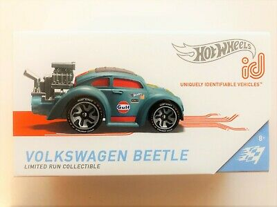 Hot Wheels ID Volkswagen Beetle Gulf Limited Edition FXB02-999Q SA1 Diecast 1/64