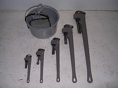 New Oiler Aluminum Pipe Wrenches For Ridgid Pipe Threader 600 700 141 161 12r