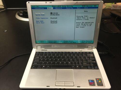 Dell Inspiron 700m Notebook Laptop No HD No RAM No Opt Drive