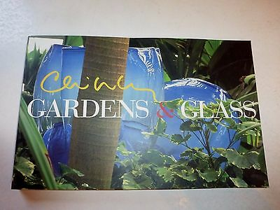 Chihuly Gardens & Glass, Dale Chihuly, Soft Cover, Publisher's Advance Copy,Sign