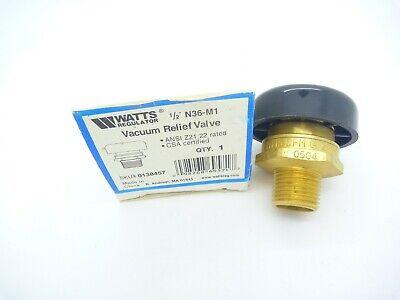 Watts N36-m1 12 Vacuum Relief Valve