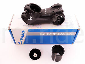 2018 GIANT Contact OD2 Stem 75mm +/-30 degree Black 1-1/4