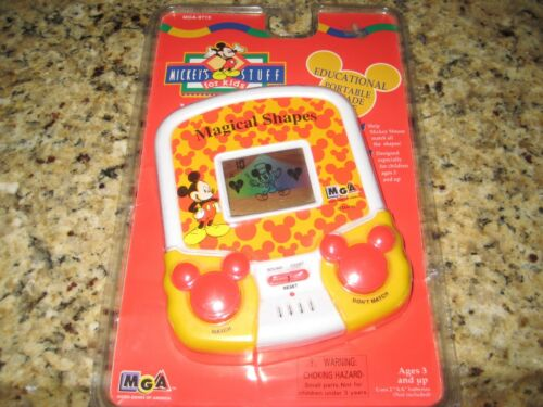 Mickey's Stuff For Kids: Magical Shapes, Educational Portable Arcade Game. NEW!