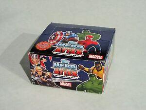 Topps Hero Attax 50 x Booster Tüten Trading Cards - 1 Display Marvel NEU OVP