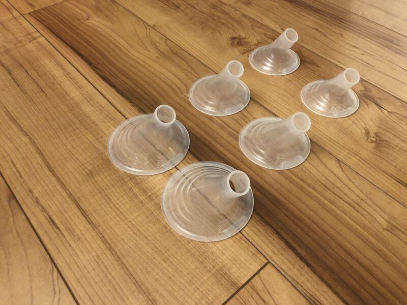 Pumpin' Pals Breast Pump Flanges Set (M, L, XL)