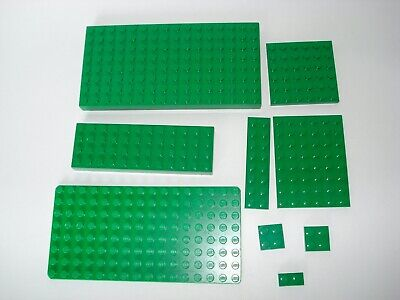 LEGOS Green Base Plates Assorted