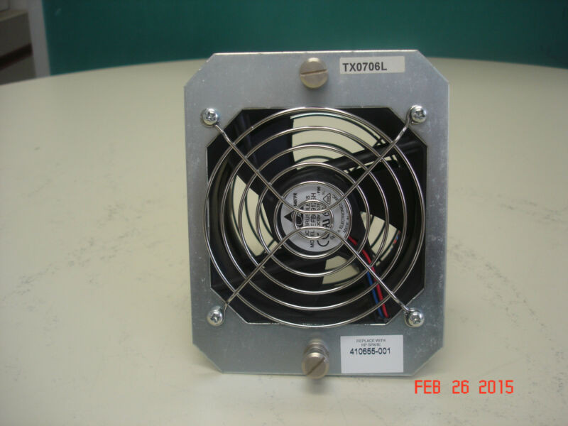 410655-001  HP ESL E SERIES LIBRARY CARD CAGE FAN ASSY.