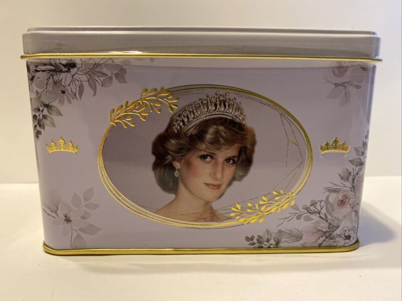 Princess Diana Of Wales English Breakfast Tea Tin  W 40 Teabags collectable