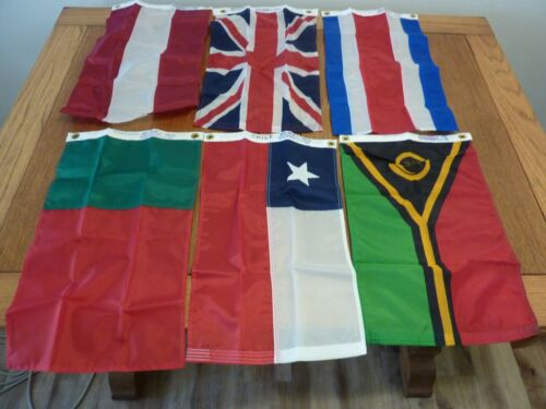 Courtesy Boat Flags