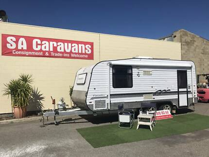 2008 Crusader MK2 Off Road 20' Caravan with Shower / Toilet