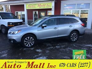 2015 Subaru Outback 3.6R Ltd/Leather/Sunroof