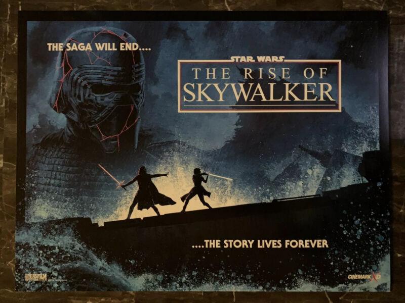 STAR WARS Rise of Skywalker 13.25 in x 17.5 in Original Cinemark Poster