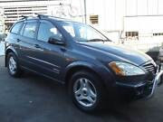 06 Ssangyong Kyron 4x4 SUV 4CYL TURBO DEISEL AUTO, COLD A/C, RWC. Kingston Logan Area Preview
