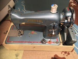 Beautiful Vintage Blue Kenmore Portable Sewing Machine
