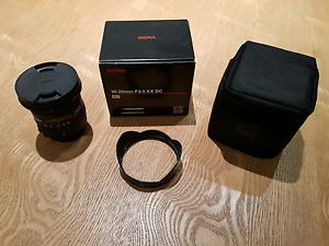 Sigma 10 -20mm F3.5 EX DC wide angle lense Docklands Melbourne City Preview