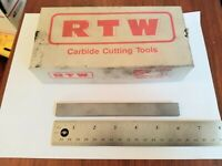 "Castlebar 1//2 X 6/"" GPC Grade 9008//C2 Solid Round Tungsten Carbide Blank Rod"