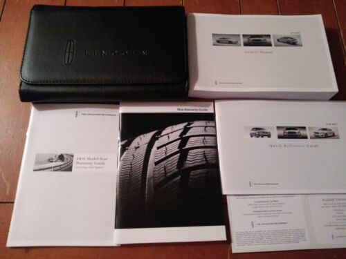2018 Lincoln MKZ Owners Manual