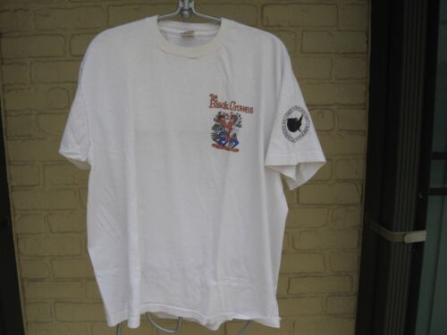 BLACK CROWES VINTAGE PROMOTIONAL T-SHIRT XL LIMITED EDITION  **VERY RARE**